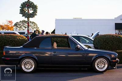 1990 BMW 3-Series  1990 bmw e30 convertible custom m50 swap turbo 600hp