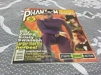 THE PHANTOM MOVIE - OFFICIAL MOVIE MAGAZINE - STARLOG (1996) w/ POSTER