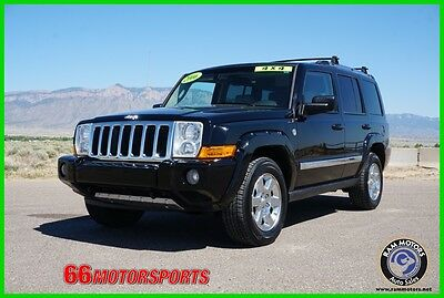 2006 Jeep Commander Limited Low Reserve Jeep Commander Limited 5.7L V8 16V Automatic 4WD Leather SUV