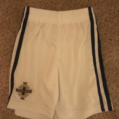 Children's Northern Ireland Football Shorts Age 1-2 Years