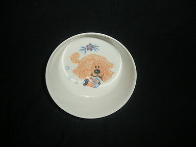 Vintage 1970s Magic Roundabout Dougal Children's Bowl by Gaydon
