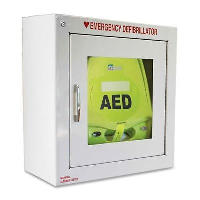 ZOLL AED Plus Standard Size Cabinet with Audible Alarm 80000855 - Cabinet Only