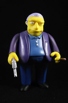 The Simpsons World of Springfield Fat Tony Action Figure Playmates Toys 2002