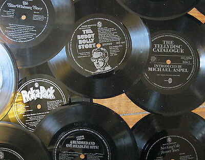 Job Lot of 18 Flexi Discs - Includes: The Buddy Holly Story - Full List