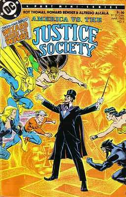 America vs. the Justice Society #3 in Near Mint - condition. FREE bag/board