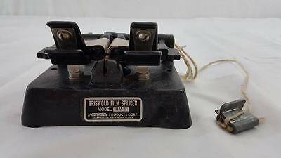 Vintage Griswold Film Splicer Model M-6 8mm 16mm Newmade Product Corp.