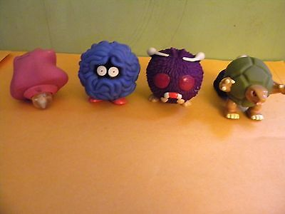 A Lot of 4 Nintendo Characters/Burger King Promotional Toys