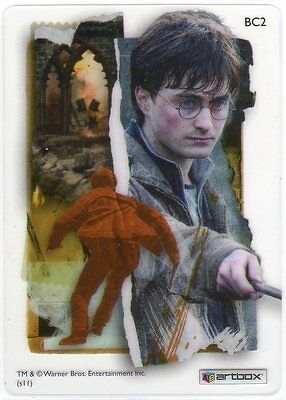 Harry Potter Deathly Hallows Part 2  Clear Card Bc2