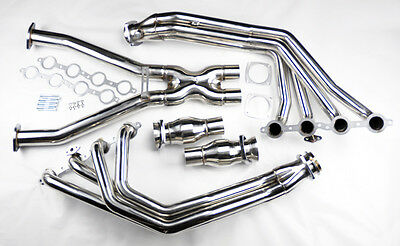 Chevy Corvette 1997-2004 C5 LS1 L6 Stainless Exhaust Headers Manifolds & X Pipe