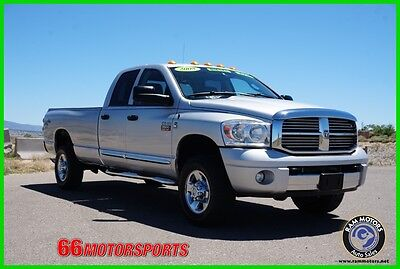 2008 Dodge Ram 3500 ST/SXT 2008 Dodge Ram Crew Cab 6.7L Turbo Diesel Automatic 4WD  Leather Pickup Truck