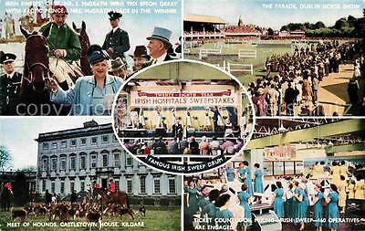 72853709 Irland Epsom Derby Horse Race Hounds Castletown House Kildare Irish Swe