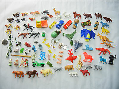 Vintage Lot of Charms, Premiums, Mini Animals and Much More! …LOOK!!