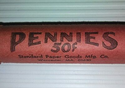 2 Rolls of 1981 uncirculated,  95% copper  vintage Abe Lincoln Pennies