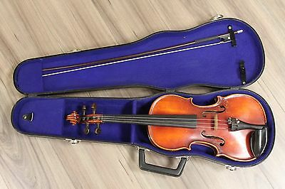 1973 handmade copy of Antonius Stradivarius 3/4 violin