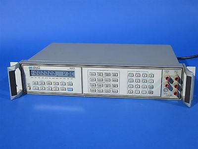 HP Agilent Digital 3457A Multimeter with 44491A General Purpose Relay NICE