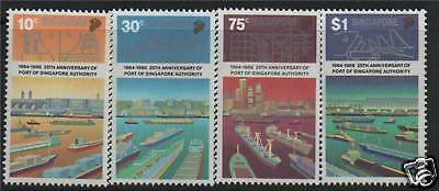 Singapore 1989 25th Anniv.Port Authority SG 588/91 MNH