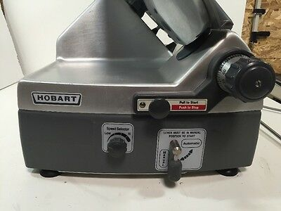 """Hobart 2912 12"""" Automatic 6-Speed 12 Inch Meat Cheese Deli Slicer  W/ Sharpener"""