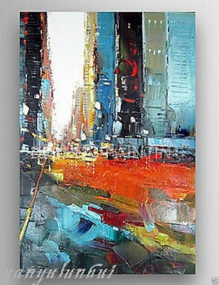 Hand Painted Abstract Large Canvas Oil Painting Wall Art Home Decor No frame