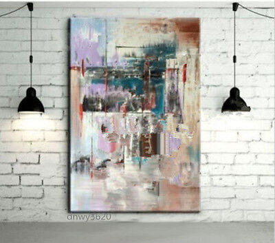Hand Painted Abstract Large Canvas Oil Painting Wall Art Home Decor guft