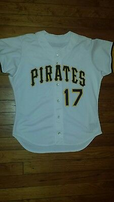 Game Used Pittsburgh Pirates 1995 Home Jersey Dale Sveum