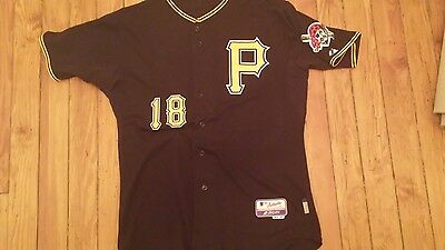 Pittsburgh Pirates Game Used Alternate Jersey Size 46 Monroe