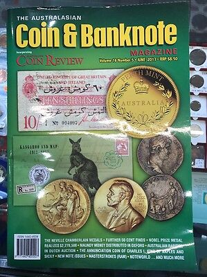 Australasian Coin & Banknote CAB Magazine Vol 16 No 5 June 2013 Coin Review