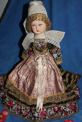 """Vintage Brittany French Doll 21"""""""