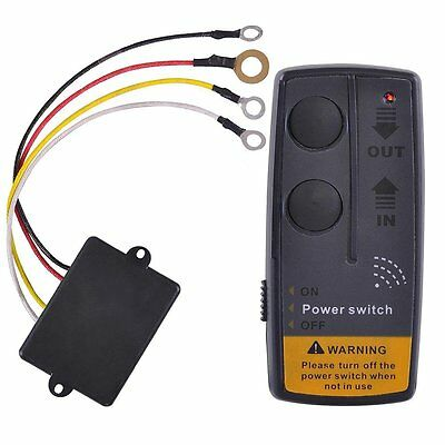 Heavy-duty Wireless Remote Control System 65ft 12V Switch Handset For Car Truck