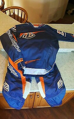 Troy Lee Designs Grand Prix Motocross Pants and Speed Equipment jersey SZ 34