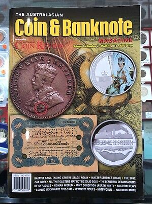 Australasian Coin & Banknote CAB Magazine Vol 16 No 2 March 2013 Coin Review
