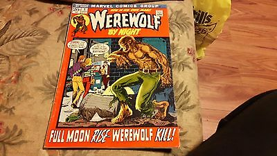 Werewolf by Night #1 (Sep 1972, Marvel) (4th appearance)
