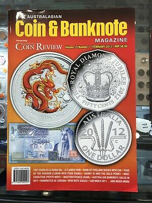 Australasian Coin & Banknote CAB Magazine Vol 15 No 1 February 2012 Coin Review