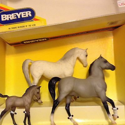 Breyer Horse Set #700693 '93 Drinkers Of The Wind Family w box