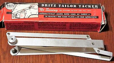 Vintage Dritz Tailor Tacker for Sewing Holds and Marks fabrics