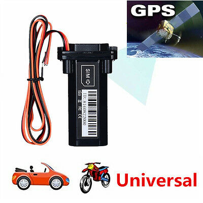 Car Vehicle Motorcycle Mini Builtin Battery GSM GPS Real Time Tracker Waterproof