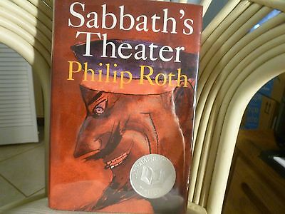Philip Roth - Sabbath's Theater - Signed 1st/st   New     National Book Award