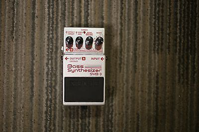BOSS Bass Synthesizer SYB-3 Effects Pedal EXcellent condition
