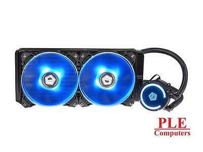 ID-COOLING AuraFlow 240 RGB LED CPU Liquid Cooler [AURAFLOW 240]