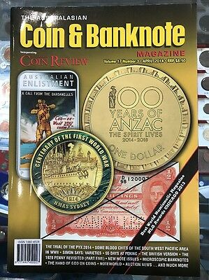 Australasian Coin & Banknote CAB Magazine Vol 17 Number 3 April 2014 Coin Review