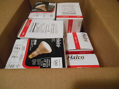 Halco BR30 FLOOD LIGHT (Lot of 10 Bulbs) 580 lumens 130V Fast Free Shipping