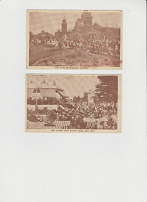 2 Vintage Postcards Canadian National Exhibition