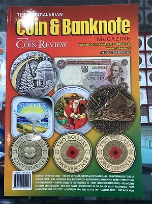 Australasian Coin & Banknote Magazine Vol 15 #11 Dec 2012 Year Book Coin Review
