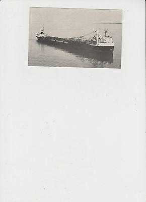 """Great Lakes Freighter M""""V"""" Manitoulin Post Card"""