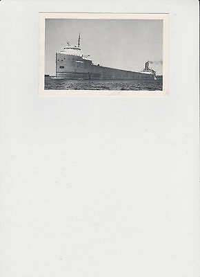 Great Lakes Freighter S.S. Matthew Andrews Post Card