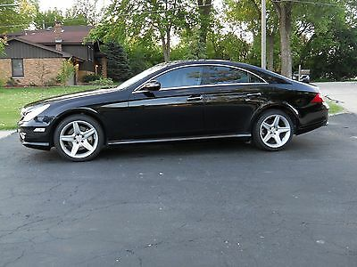 2009 Mercedes-Benz CLS-Class AMG PACKAGE 2009 Mercedes Benz CLS 550 with AMG PACKAGE / SHARP / BLACK ON TAN!