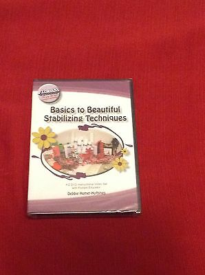 Floriani Embroidery, Basics to Beautiful Stabilizing Techniques DVD