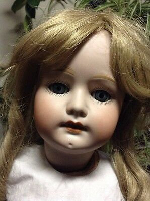 Antique German Doll 27 Inches Tall Heubach 250-6 1/2