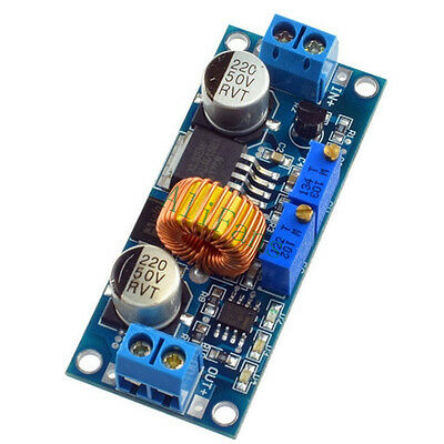 5A Lithium Charger CV CC Step down Power Supply Module LED Driver Adjustable