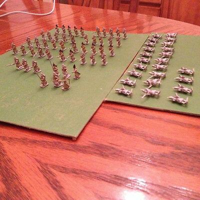 Large lot of 15mm Russian Crimean Infantry from Minifigs, over 70 figures