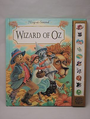 Play-a-Sound: The Wizard of Oz by L. Frank Baum (1993, Hardcover)